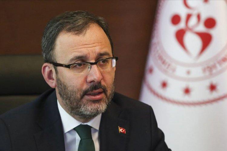 Bakan Kasapoğlu'ndan VakıfBank'a tebrik