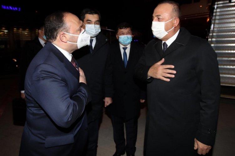 Dışişleri Bakanı Çavuşoğlu, Kırgızistan'da