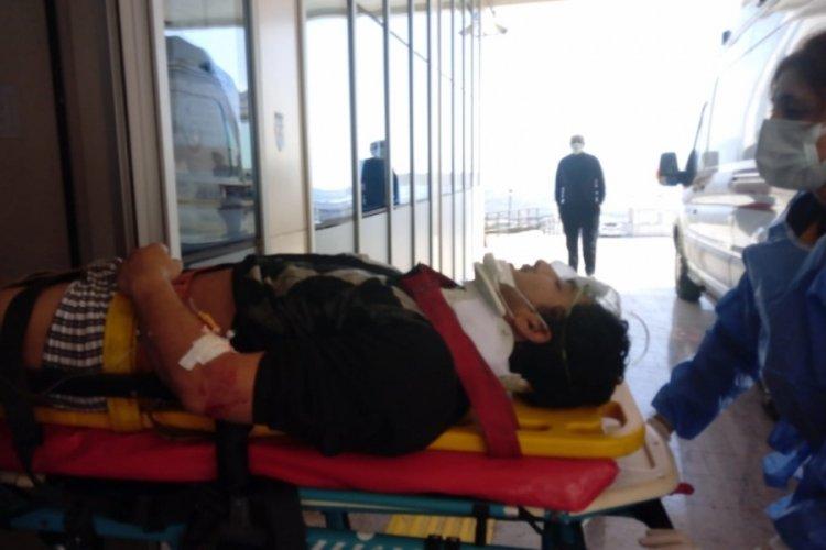 Bursa Orhangazi'de iş kazasında bir işçi yaralandı