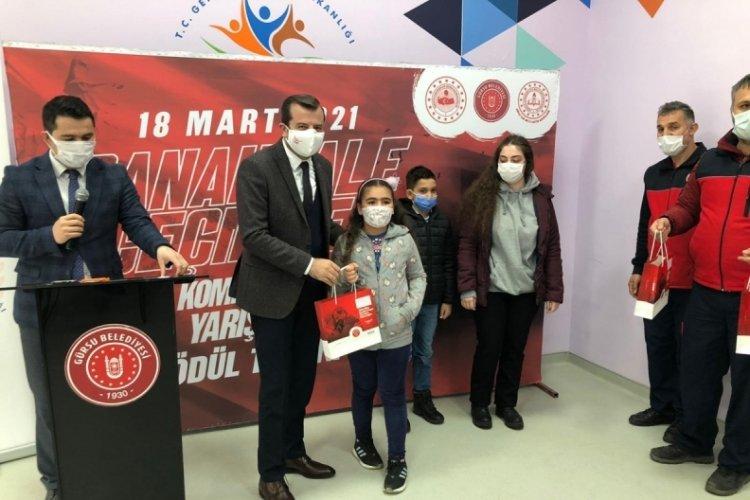 Bursa'da Çanakkale ruhunu kaleme dökerek ödül kazandılar