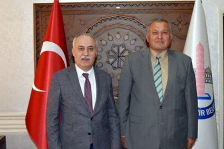 İş dünyasından Bursa Yenişehir Belediye Başkanı Aydın'a ziyaret