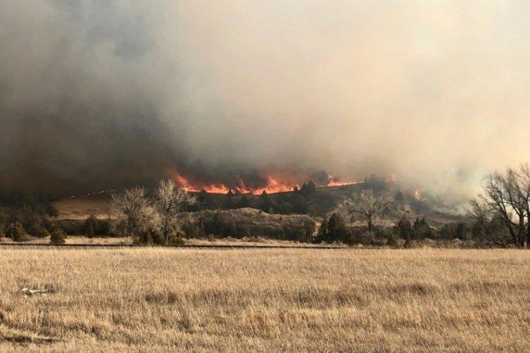 ABD'de orman yangını - Bursada Bugün - Bursa bursa haber bursa haberi bursa  haberleri Bursa