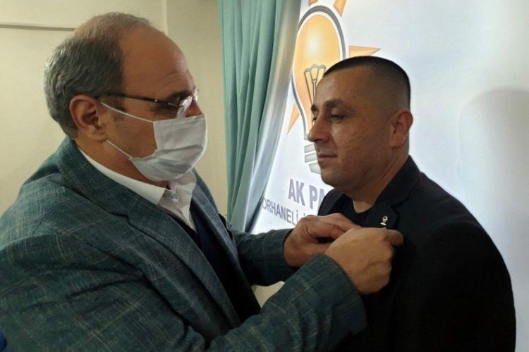 Bursa Orhaneli CHP eski ilçe başkanı AK Parti'ye geçti