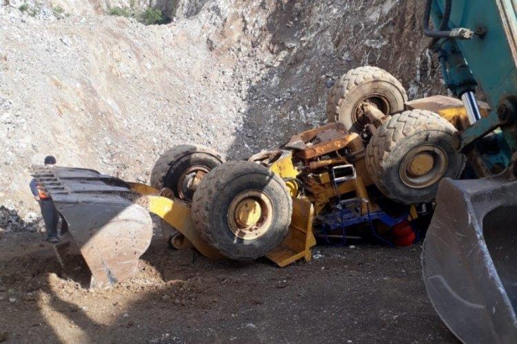 Bursa'da maden kazasında 1 kişi hayatını kaybetti