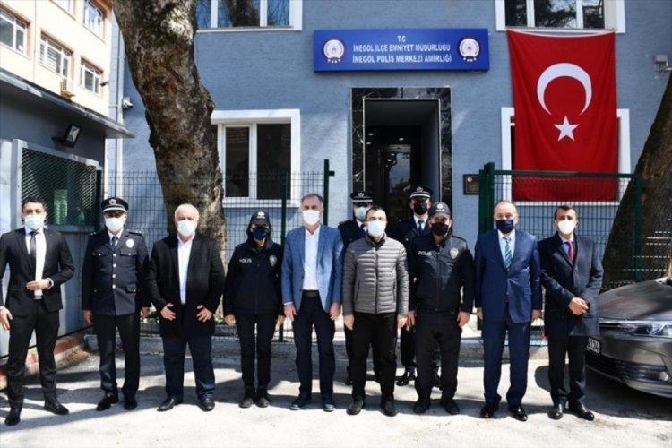 Bursa İnegöl Belediye Başkanı Taban, polis teşkilatının yıldönümünü kutladı