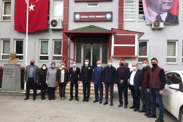 Bursa'da Gürsulu polisler unutulmadı