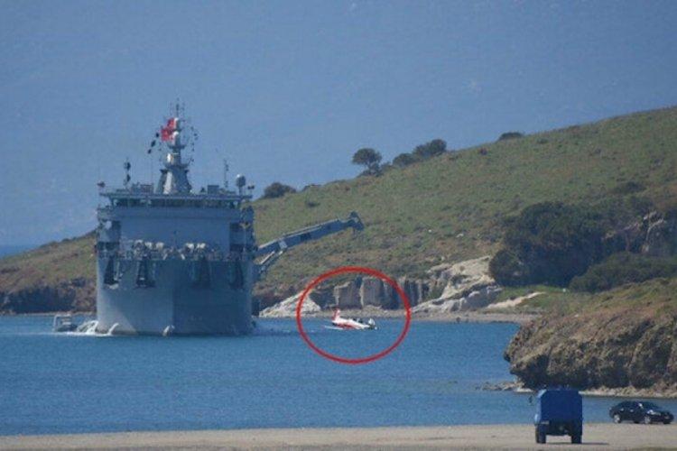 İzmir'de düşen eğitim uçağı denizden çıkarılıyor