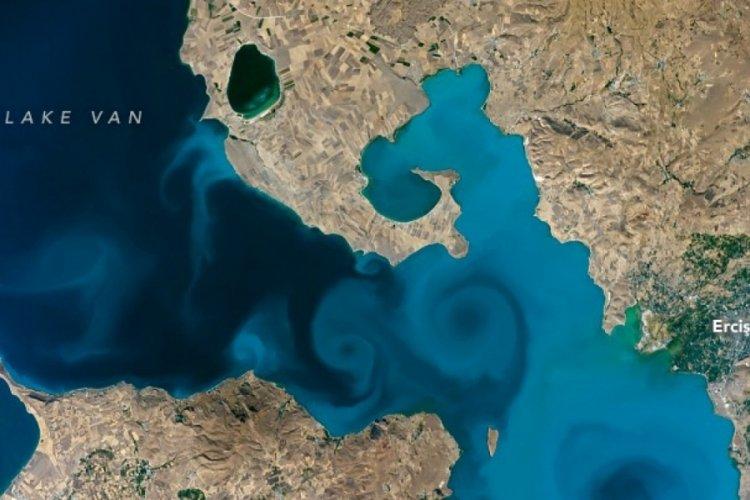 Van Valiliği, Van Gölü fotoğrafını çeken astronotu davet etti