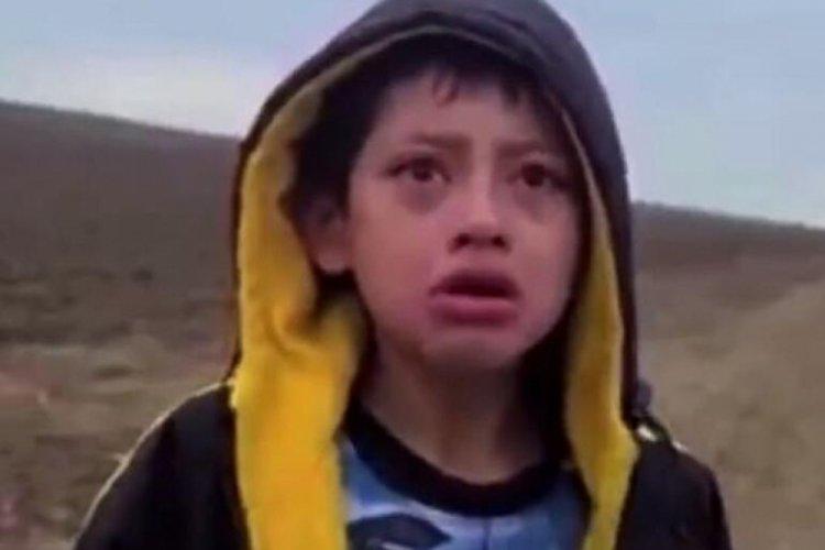Meksika sınırında ölüme terk edilen çocuğun annesi kaçırılmış