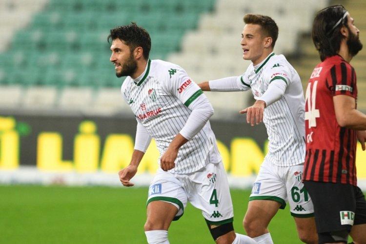 Bursaspor'da Cüneyt Köz, Bandırmaspor maçında forma giyemeyecek
