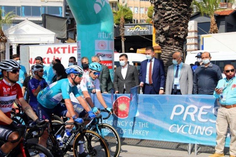 Cumhurbaşkanlığı Türkiye Bisiklet Turunun 4. etabı başladı