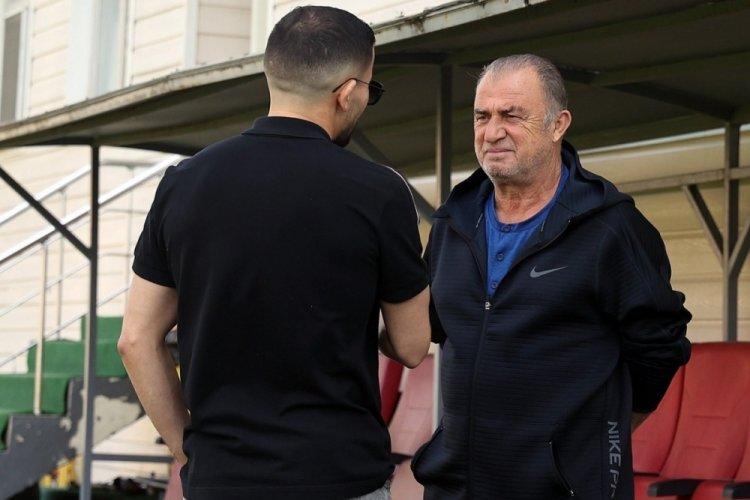 Omar Elabdellaoui'den takıma ziyaret