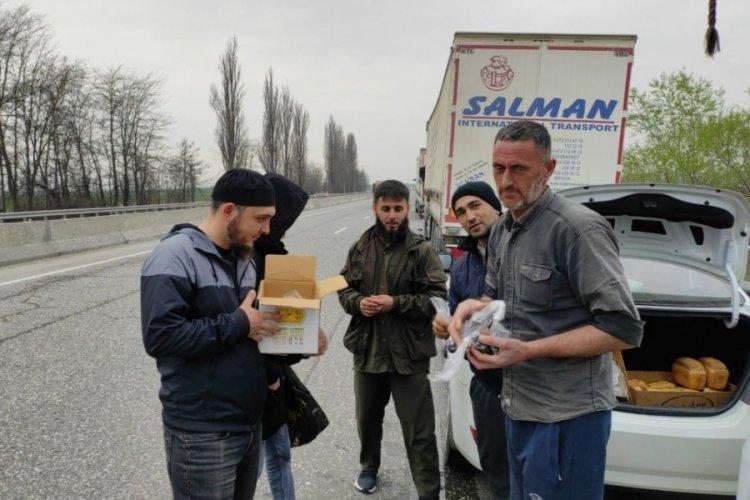 Türk tır şoförleri 1 aydır Rusya-Gürcistan sınırında mahsur