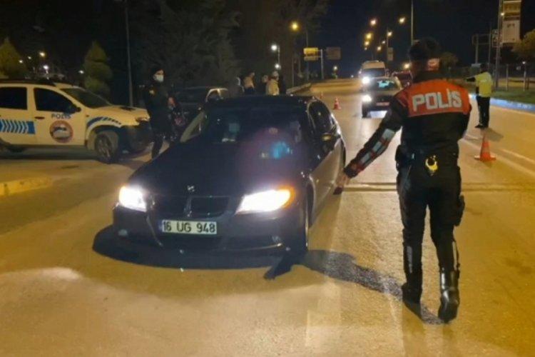 Bursa'da 'kısmi kısıtlama' uygulaması: 25 kişiye 61 bin TL ceza