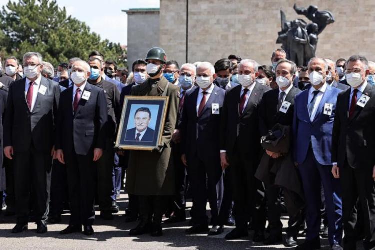 Eski Başbakan Yıldırım Akbulut'a veda! Cumhurbaşkanı Erdoğan'dan cenaze töreninde açıklama