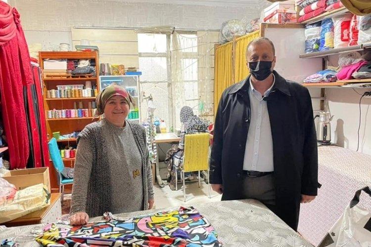 Bursa İznik Belediye Başkanı Mehmet Usta, güne esnaf ziyareti ile başlıyor