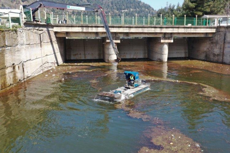 Bursa Doğancı Barajı'nda hummalı temizlik