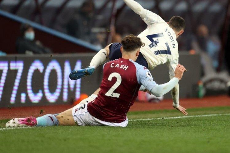 Manchester City, Aston Villa'yı 2 golle geçti