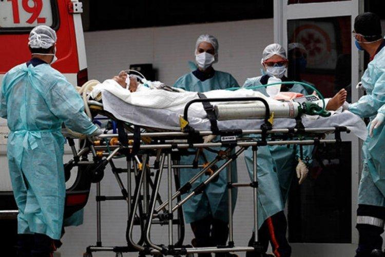 Brezilya'da son 24 saatte Kovid-19'dan 3 bin 472 kişi hayatını kaybetti