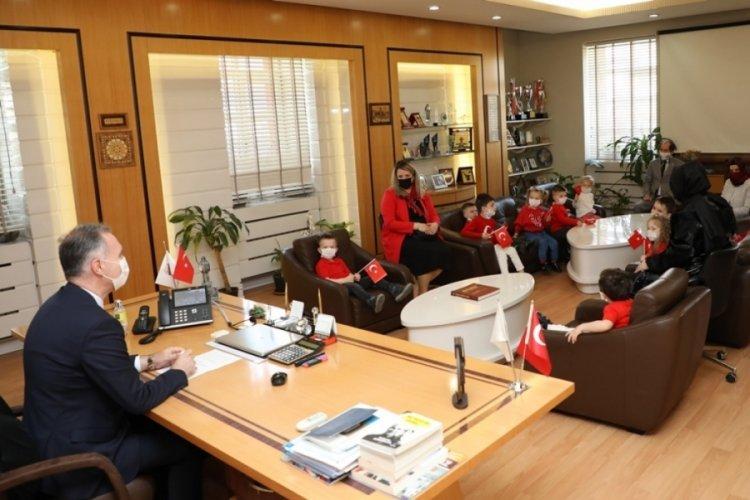 Bursa İnegöl Belediyesi'nde bayram erken başladı