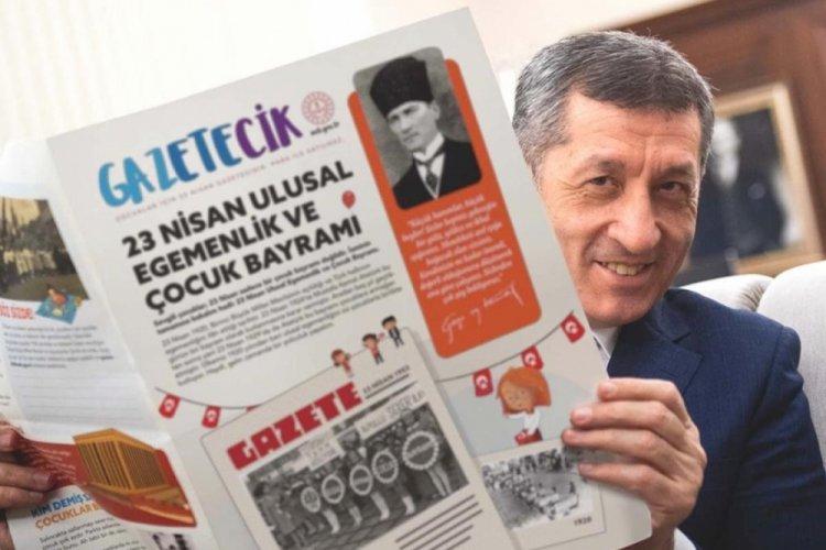 Çocuklara özel 23 Nisan gazetesi çıktı