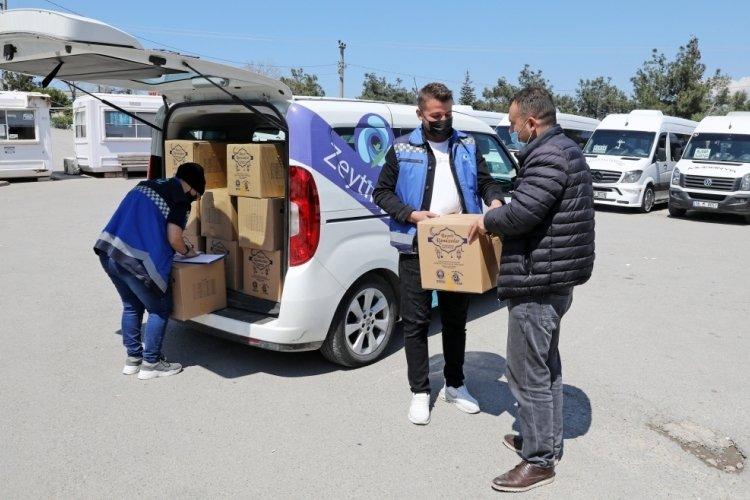 Bursa Mudanya Belediyesi şoför esnafıyla dayanışma içinde