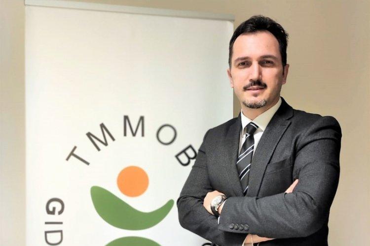 Gıda Mühendisleri Odası Bursa Şube Başkanı Durmuş'tan sektörde aşılama çağrısı