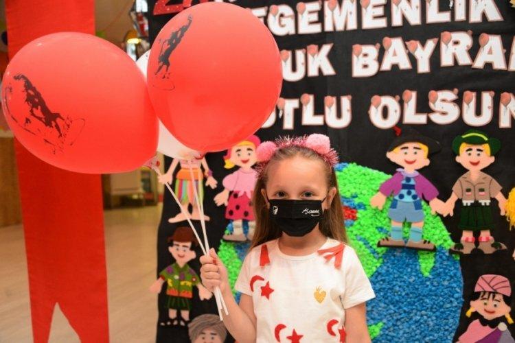 Bursa'da Atatürk çocuklarının bayram mutluluğu