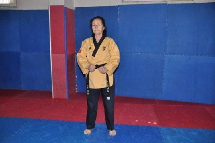 Tekvandocu 'süper babaanne' şampiyonluk istiyor
