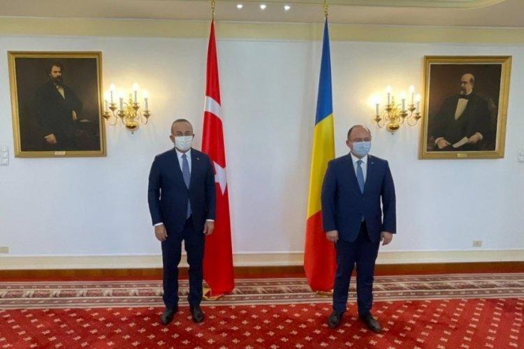 """Bakan Çavuşoğlu: """"Romanya, Balkanlar'daki en önemli ortaklarımızdan biri"""""""