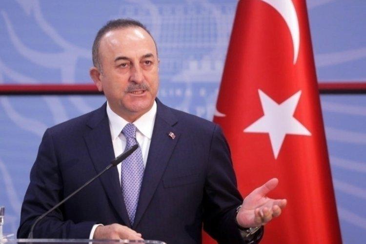 Dışişleri Bakanı Çavuşoğlu, BAE Dışişleri Bakanı El Nahyan'la görüştü