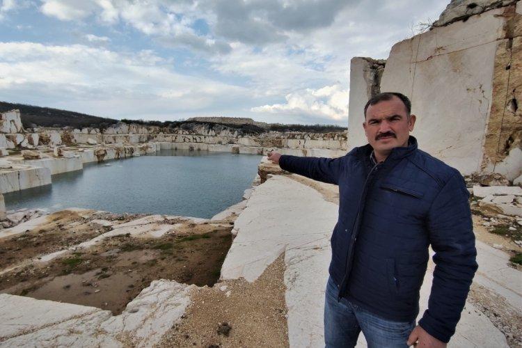 Bursa'da mermercilerden köylüye ölüm havuzu kaldı