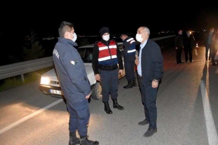 Bursa Yenişehir Belediye Başkanı Aydın'dan görev noktalarına ziyaret