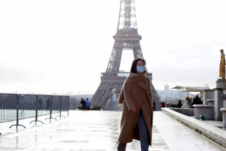 Fransa'da son 24 saatte 24 bin 465 yeni vaka