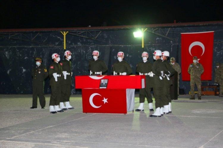 Pençe-Şimşek harekatında şehit olan asker memleketi Samsun'a uğurlandı