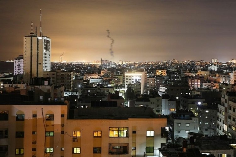 İsrail, Gazze Şeridi'nden 3 roket fırlatıldığını duyurdu