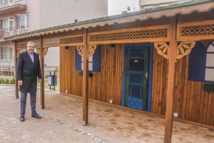 Bursa Karacabey'de Osmanlı motifleri taşıyan parkta sona doğru