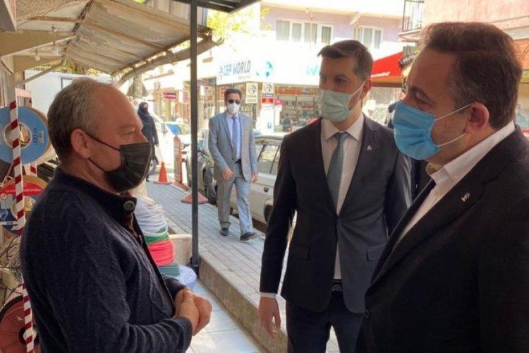 Bursa'da AK Parti ve MHP'den ortak destek