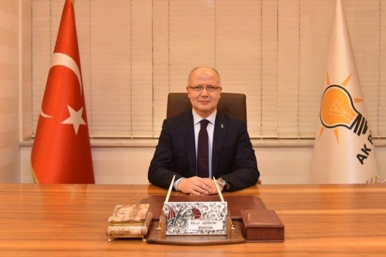 """AK Parti İl Başkanı Gürkan: """"Güzel Bursamız için her çalışmanın takipçisiyiz"""""""