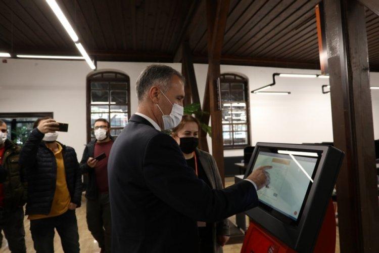 Bursa'da yeni nöbetçi kitaphane hizmete girdi