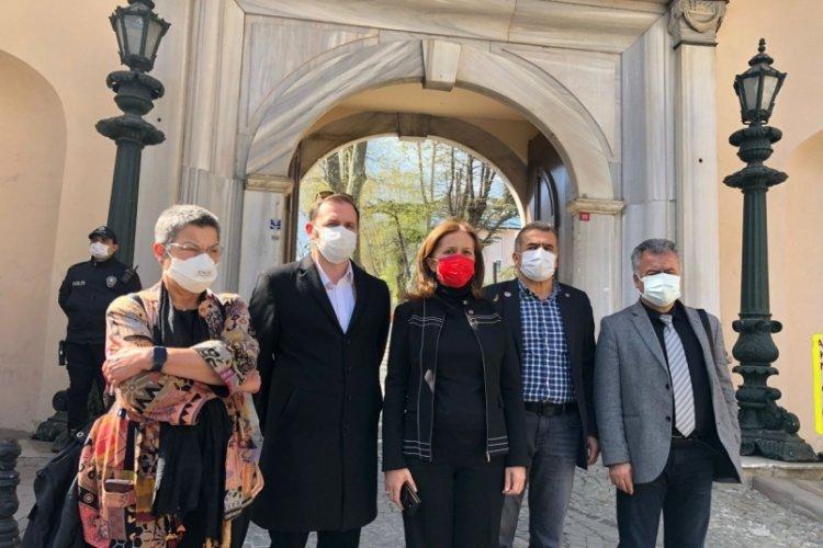 Arzu Çerkezoğlu: 1 Mayıs çelengimizi anıta bırakacağız