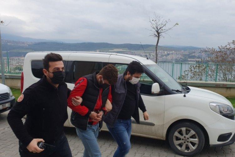 Bursa Gemlik'te hırsızlık şüphesiyle yakalanan zanlı tutuklandı