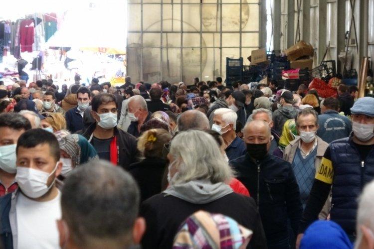 Zonguldak'ta kısıtlama sonrası korkutan görüntü