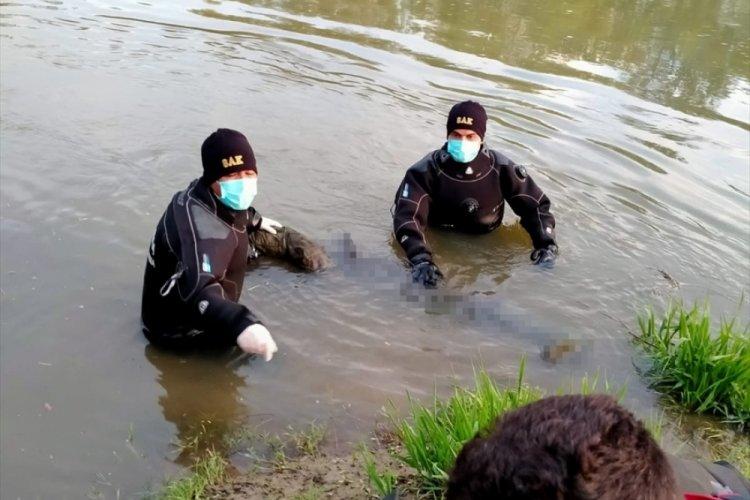 Kayıp yaşlı adamın cesedi nehirde bulundu