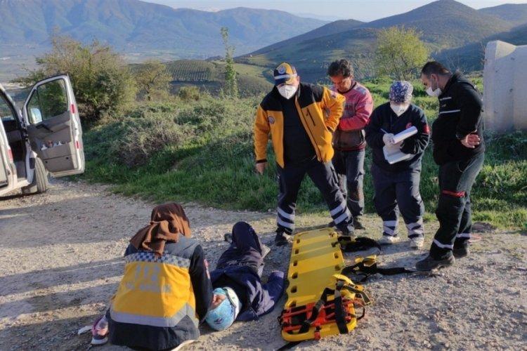 Bursa Orhangazi'de trafik kazası