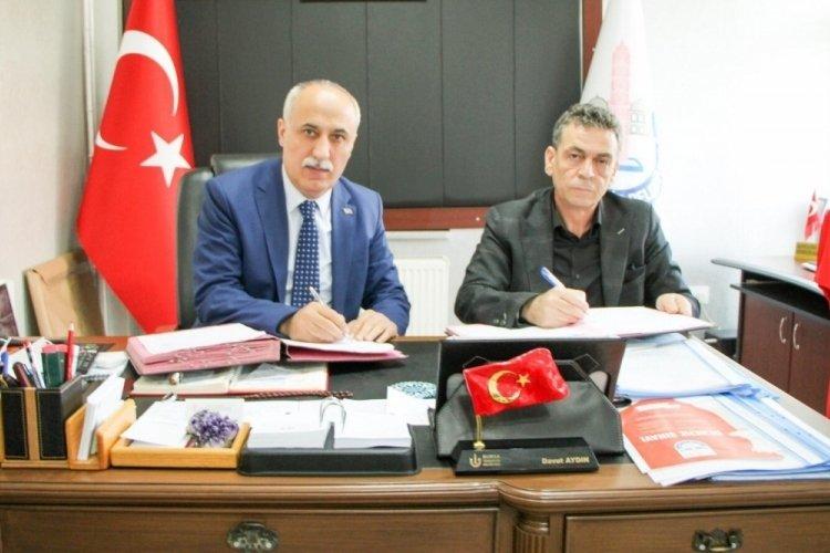Bursa Yenişehir Belediyesi ile tapu müdürlüğü arasında protokol