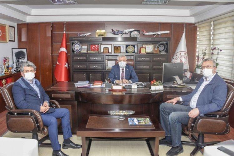 """Bursa Karacabey Belediye Başkanı Özkan: """"Sağlık çalışanlarımıza destek oluyoruz"""""""