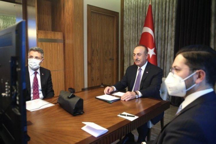 Bakan Çavuşoğlu, Almanya İçişleri Seehofer'le görüştü