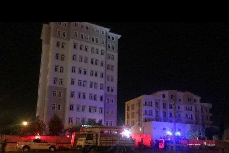 10 katlı binada intihar girişimi