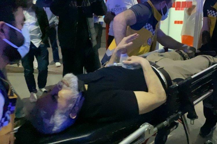 Bursa'da gece saatlerinde kanlı olay: Polis memuru yaralandı